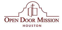 Open Door Mission Text